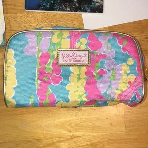 Lilly Pulitzer cosmetics bag